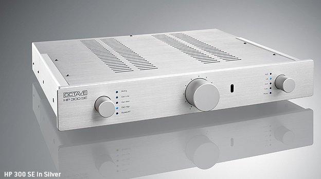OCTAVE オクターブ プリアンプ HP300SE フォノモデル シルバー