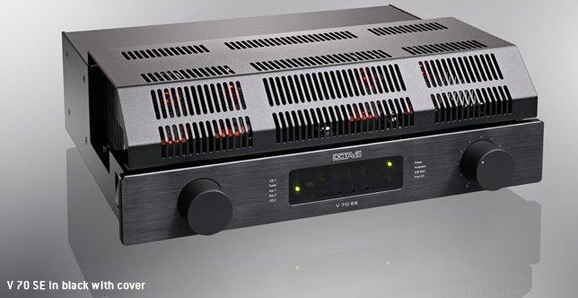 送料無料!!(代引不可) OCTAVE オクターブ プリメインアンプ V 70 SE ブラック フォノステージ