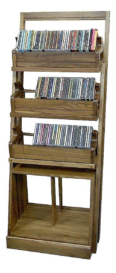 Acoustic Design アコースティックデザイン AD-CDLP3+1 CD・LP4段ラック
