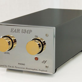 EAR イーエーアール 管球式フォノイコライザー EAR 834P Deluxe 価格お問い合わせ下さい。