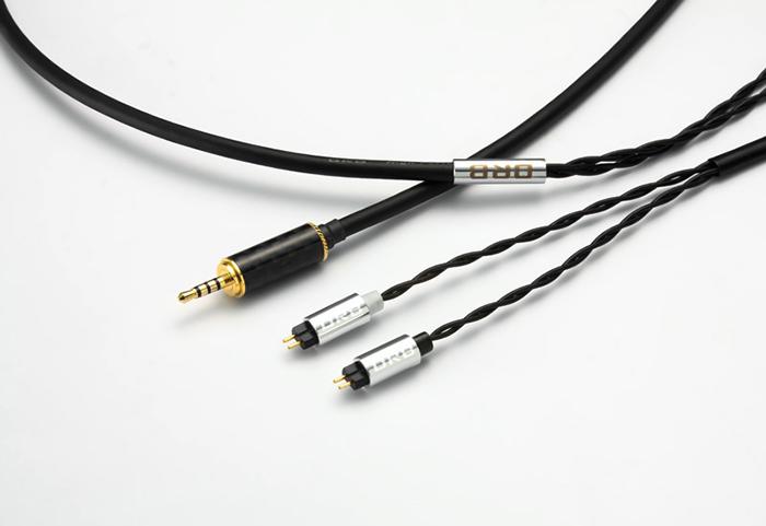 ORB Clear force Custom IEM 2pin Balanced オーブ ヘッドホン/イヤフォン用 リケーブル 1.2m