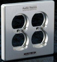 Audio Replas オーディオリプラス コンセントプレート CPP-4SZ/S