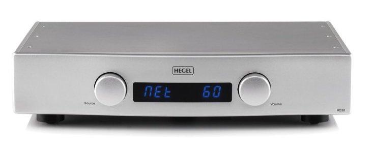 HEGEL ヘーゲル DA コンバーター HD30 シルバー