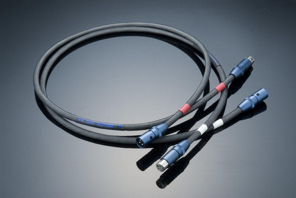 EVD(XLR) XLRケーブル エーイーティー LINE SIN AET ペア 0.8m
