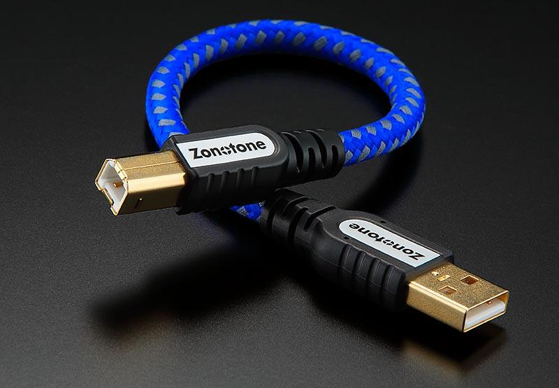 Zonotone 6N・USB-Grandio 2.0 A-B type 1.2m ゾノトーン USBケーブル 1本