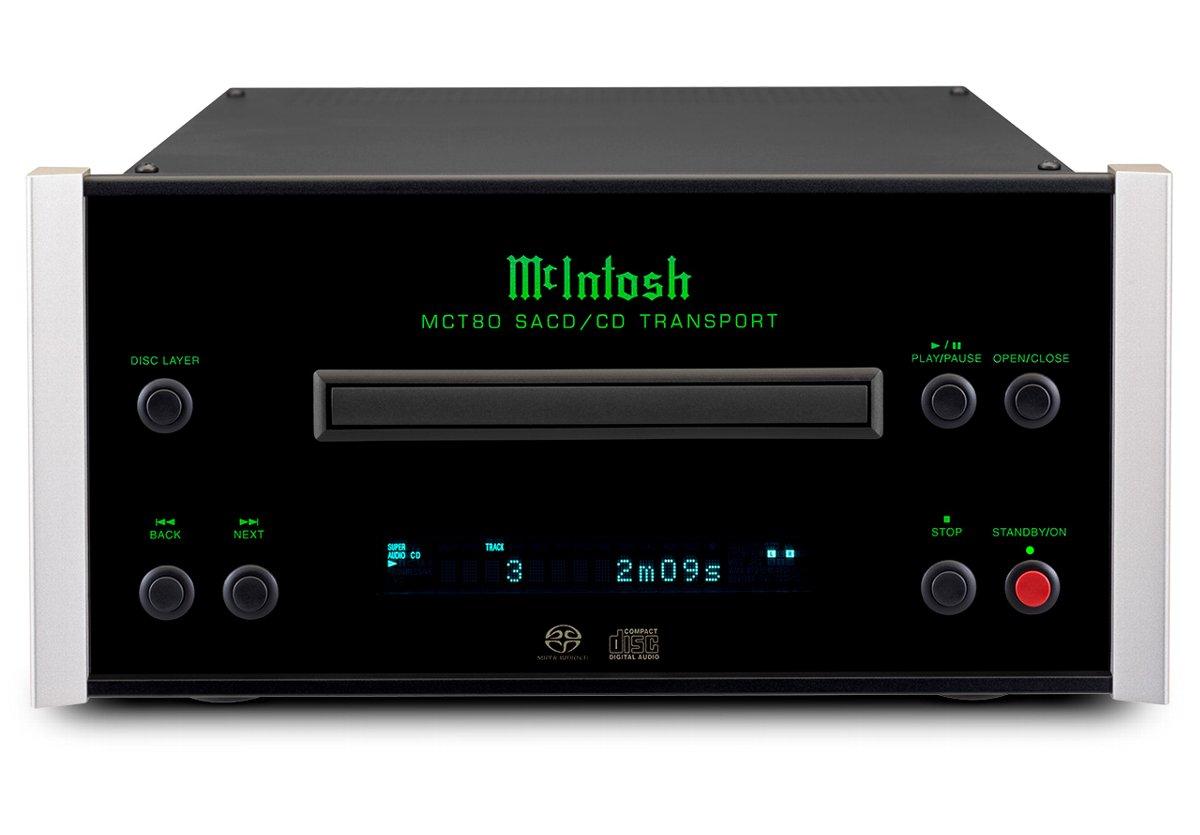 McIntosh MCT80 マッキントッシュ SACD/CD トランスポート