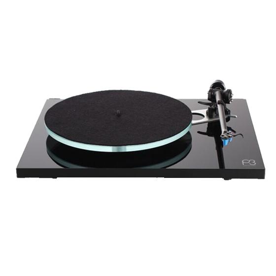 rega Planar3-Black 50Hz ブラック-針無(50Hz 専用モデル) レガ アナログプレーヤー