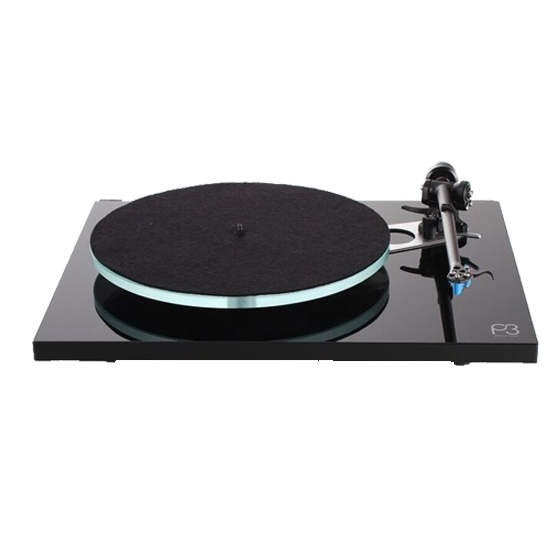 rega Planar3-Black 60Hz ブラック-針無(60Hz 専用モデル) レガ アナログプレーヤー