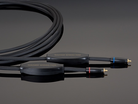 TRANSPARENT Reference Phono Cable RPH 1 (1m) RCA → RCA トランスペアレント フォノケーブル