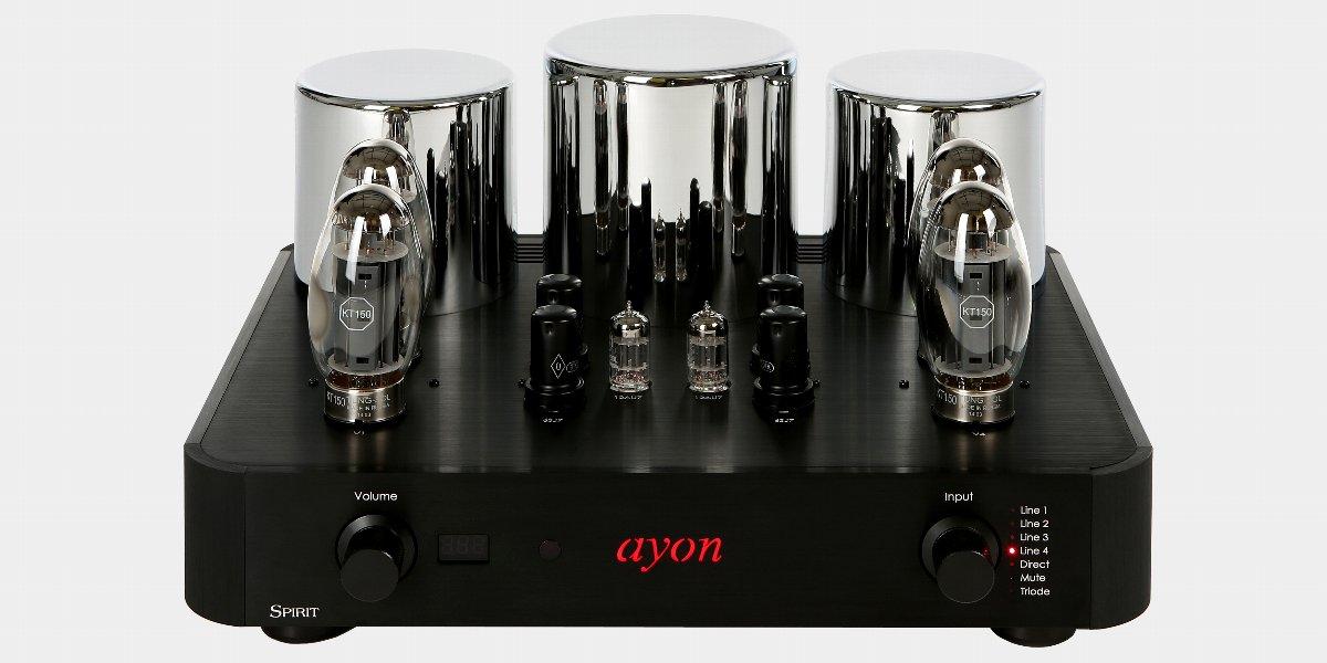 Ayon Spirit III アイオン 真空管インテグレーテッドアンプ