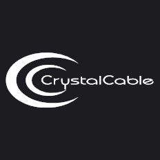 Crystal Cable CrystalConnect Reference Diamond Phono 1.0m 5pinアングル型-RCA クリスタルケーブル フォノケーブル ペア