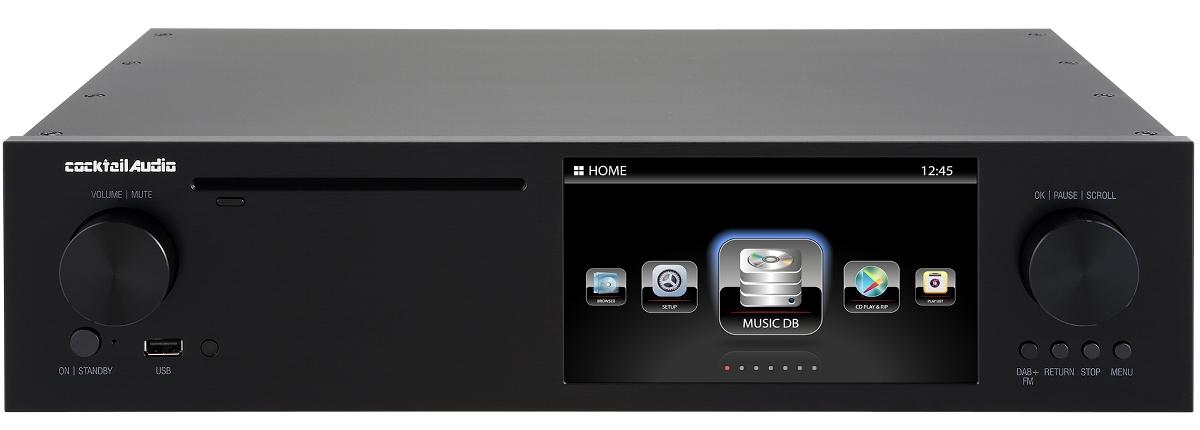 Cocktail Audio X50D ブラック カクテルオーディオ デジタルミュージックサーバー&トランスポート