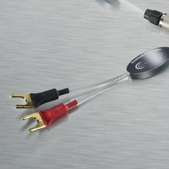 Crystal Cable CrystalSpeak Piccolo Diamond (シングルワイヤ端子用) 2.0m Yラグ クリスタルケーブル スピーカーケーブル