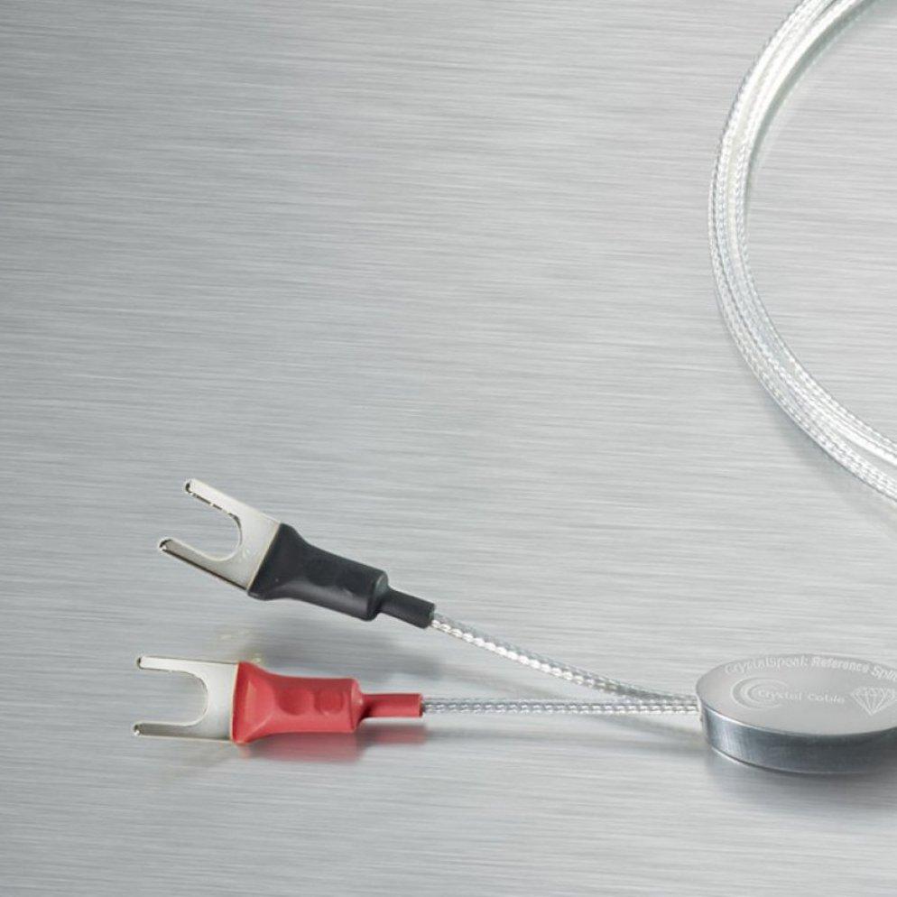 Crystal Cable CrystalSpeak Reference Diamond (バイワイヤ端子用) 2.0m Yラグ クリスタルケーブル スピーカーケーブル ペア