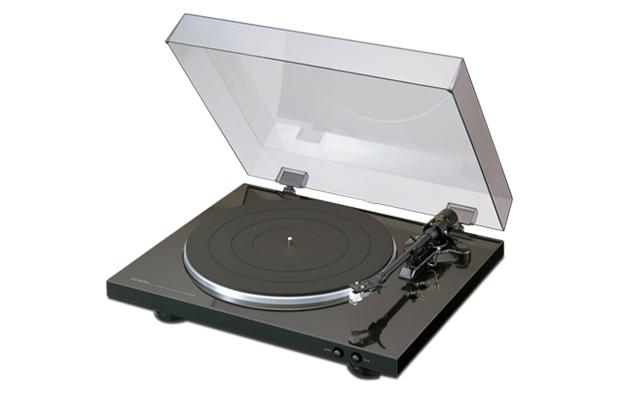 DENON DP300F K デノン レコードプレーヤー