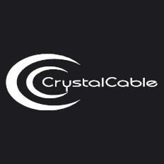Crystal Cable 交換用スプリッター端子 (バイワイヤ端子用) 0.2 m 1本 バナナ クリスタルケーブル Piccolo Diamond