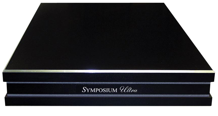SYMPOSIUM ULTRA PLATFORM 19×18 ブラック 特注オーダー品 シンポジウム オーディオボード