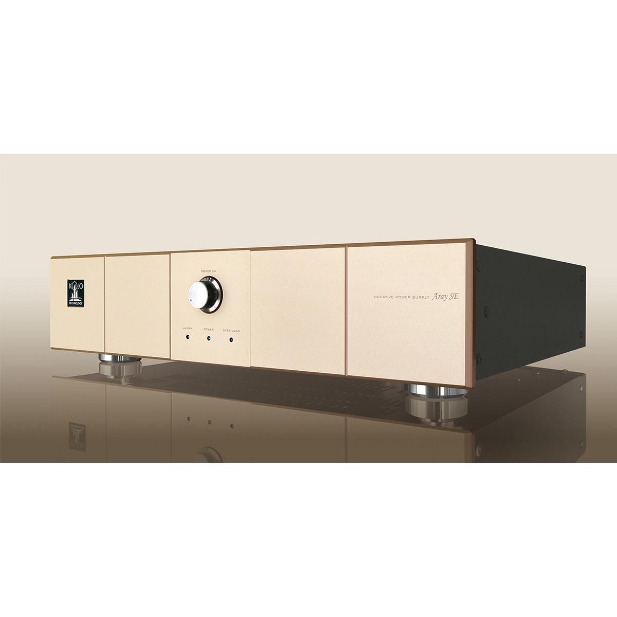 KOJO TECHNOLOGY Aray MKII SE サンセットシャンパンゴールド 入力電圧、出力電圧をご連絡下さい コージョーテクノロジー クリーン電源