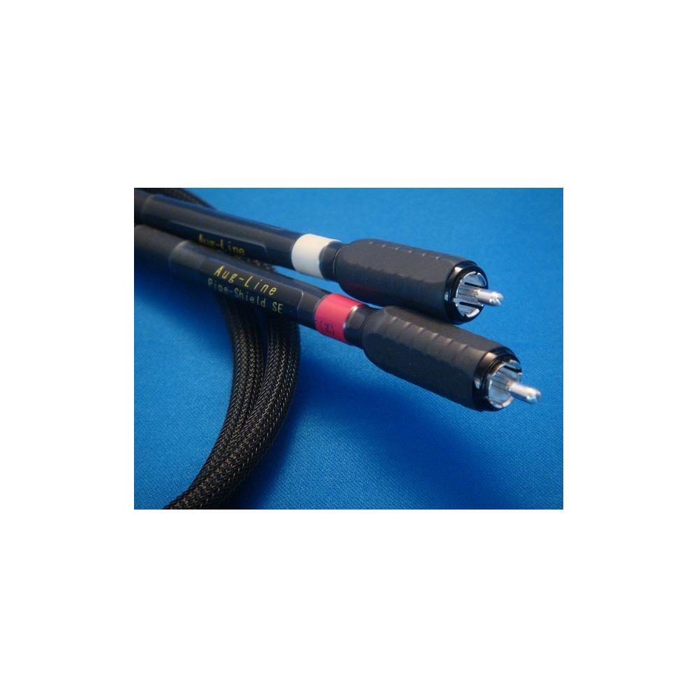 Aug-Line インターコネクト パイプシールド RCA SpecialEdition オーグライン RCAケーブル 1.3m ペア