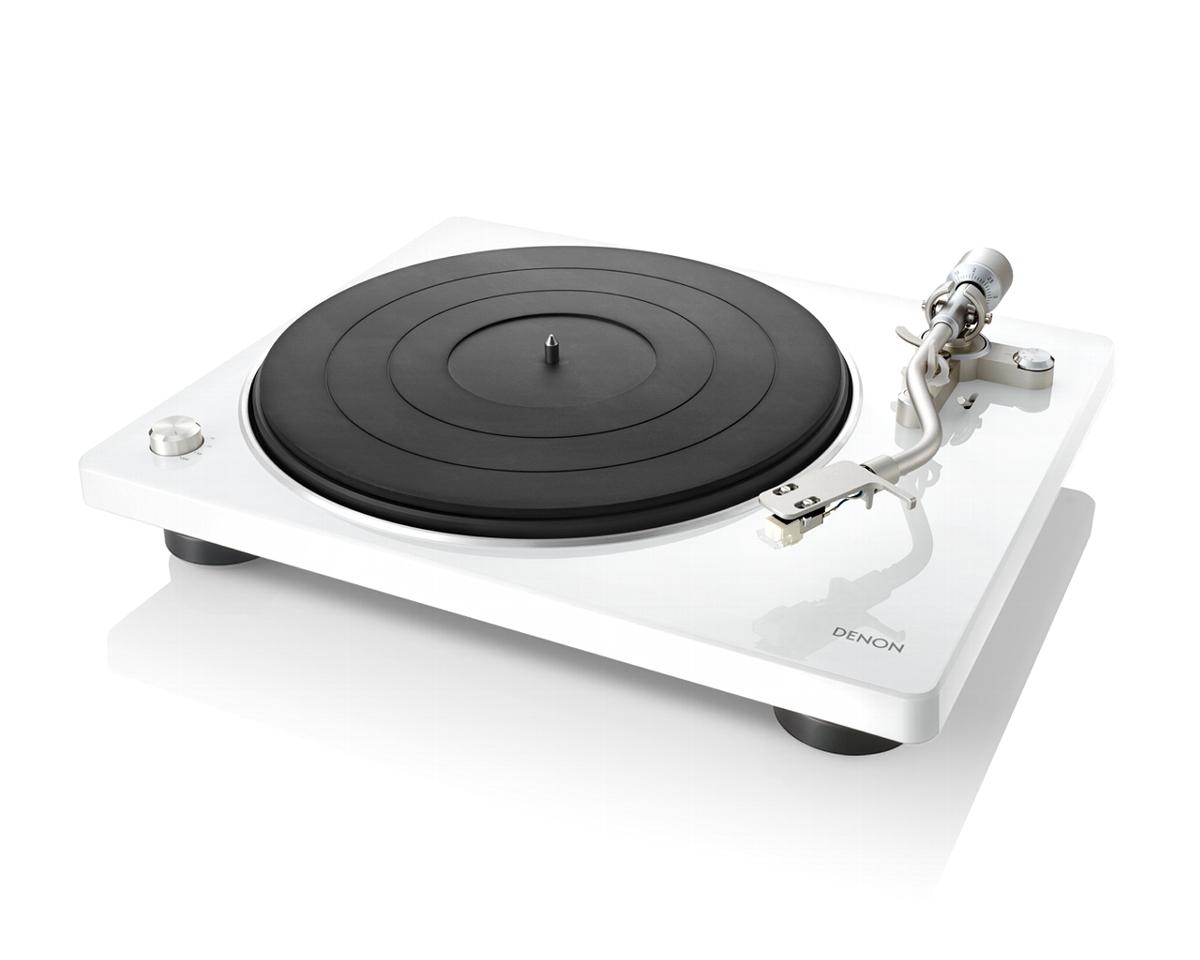 Price Down!DENON DP-400 ホワイト デノン レコードプレーヤー