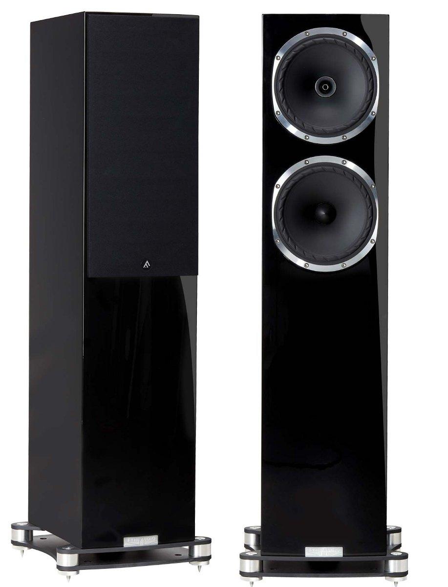 Fyne Audio F502SP ファインオーディオ スピーカーシステム ピアノグロス・ブラック ペア