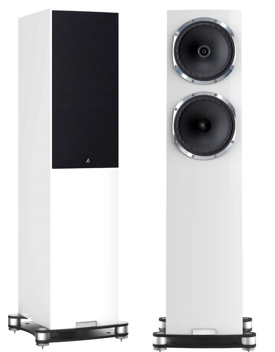 Fyne Audio F502SP ファインオーディオ スピーカーシステム ピアノグロス・ホワイト ペア