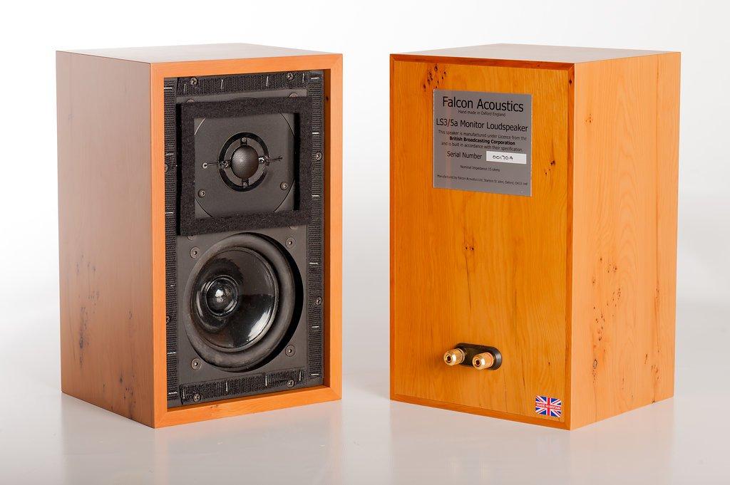Falcon Acoustics LS3/5a Burr Walnut ファルコンアコースティックス スピーカーシステム
