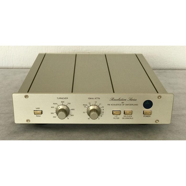 FM Acoustics FM123B FMアコースティックス Phono Amplifier 完全受注品(キャンセル不可) 特別価格ASK!
