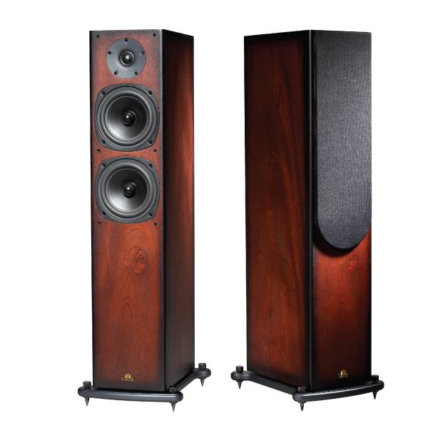 Castle Acoustics Knight 5 Walnut キャッスル スピーカーシステム ペア