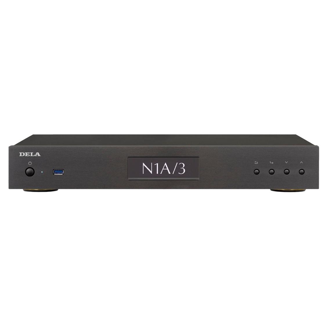DELA N1A/3-S20B ブラック デラ ミュージックライブラリー