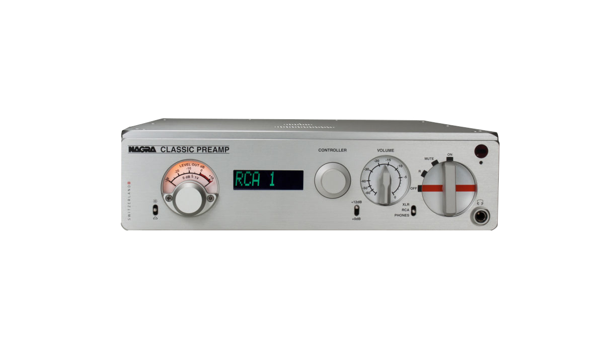 NAGRA Classic PREAMP with XLR Input Trans A CPS-III(外部電源)付 ナグラ プリアンプ
