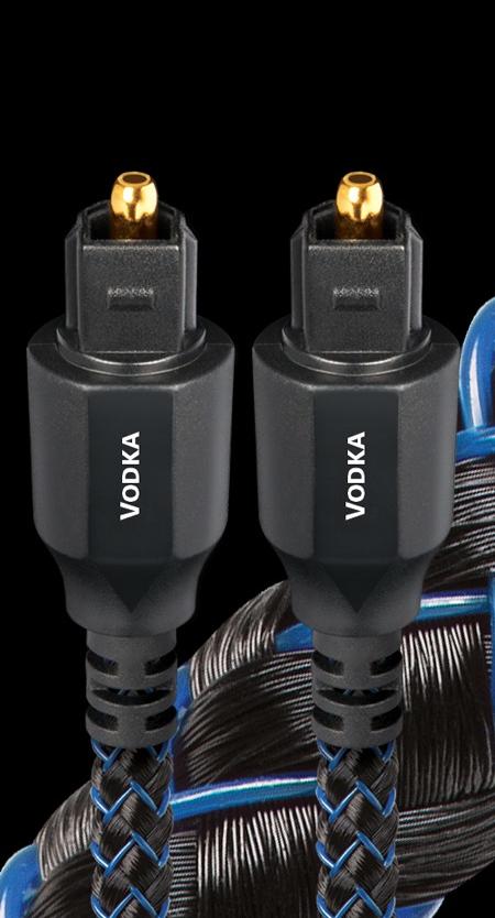 audioquest Optical 2 Vodka オーディオクエスト オプティカルケーブル Full Size 1.5m