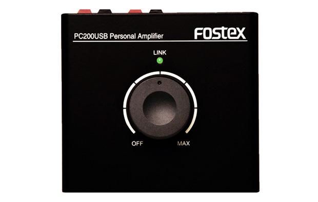 FOSTEX PC200USB フォステックス パワーアンプを搭載 パーソナル・アンプ