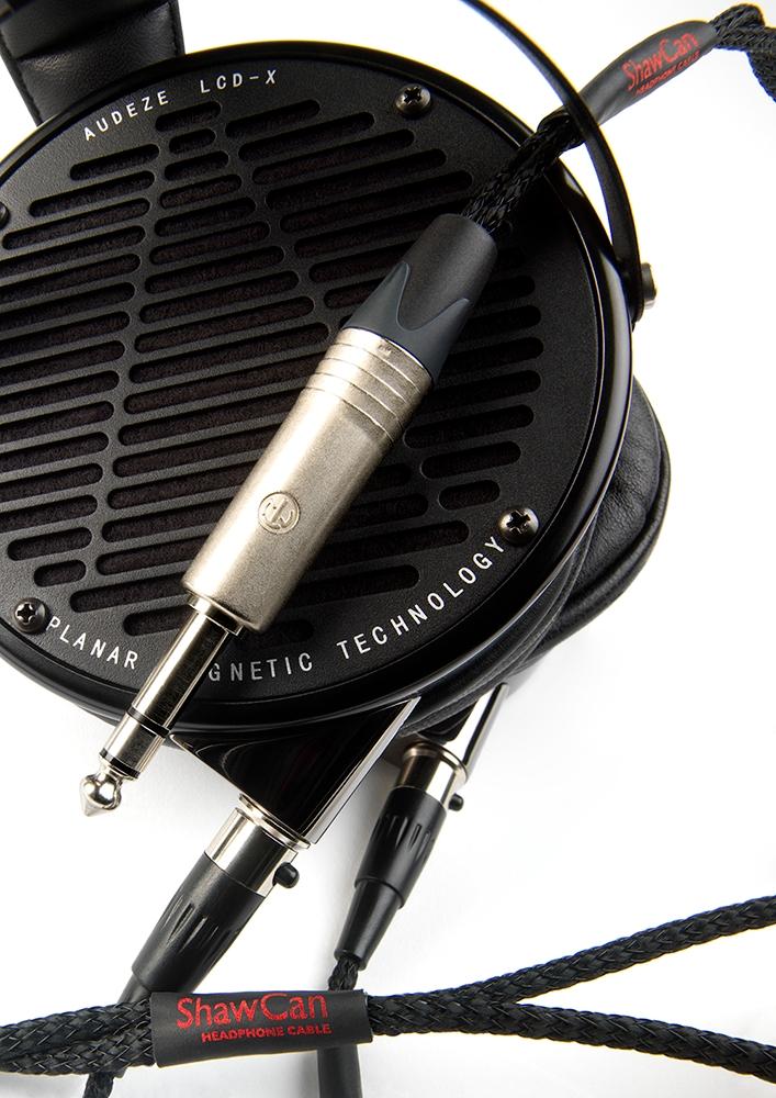 【入荷未定・ご予約承ります】THE CHORD COMPANY ShawCan 入力:ミニ3.5mm 出力:HD800  ザ・コード・カンパニー HPケーブル 1.5m