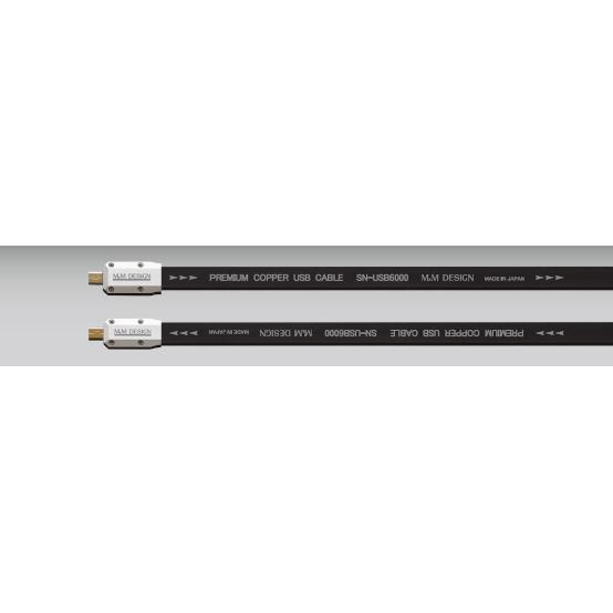 M&M DESIGN microB-miniB エムアンドエムデザイン USBケーブル 0.5m