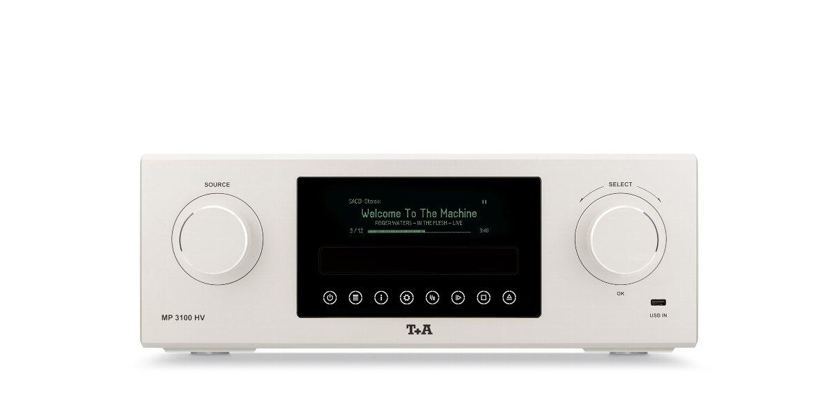 T+A MP 3100 HV ティー・プラス・エー SCD/SACDマルチソースプレーヤー