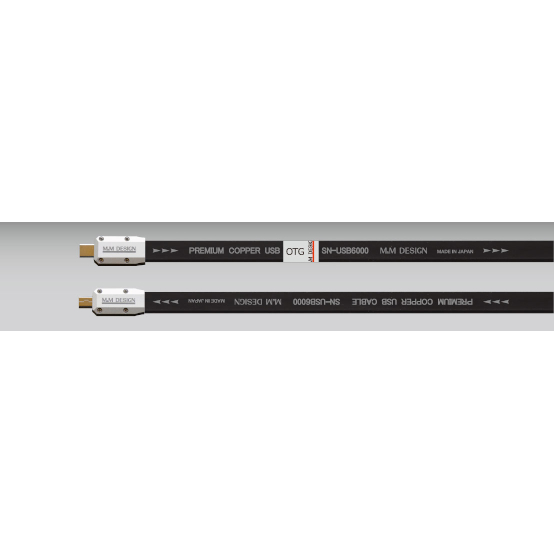 M&M DESIGN TypeC-miniB OTGタイプ エムアンドエムデザイン USBケーブル 0.5m