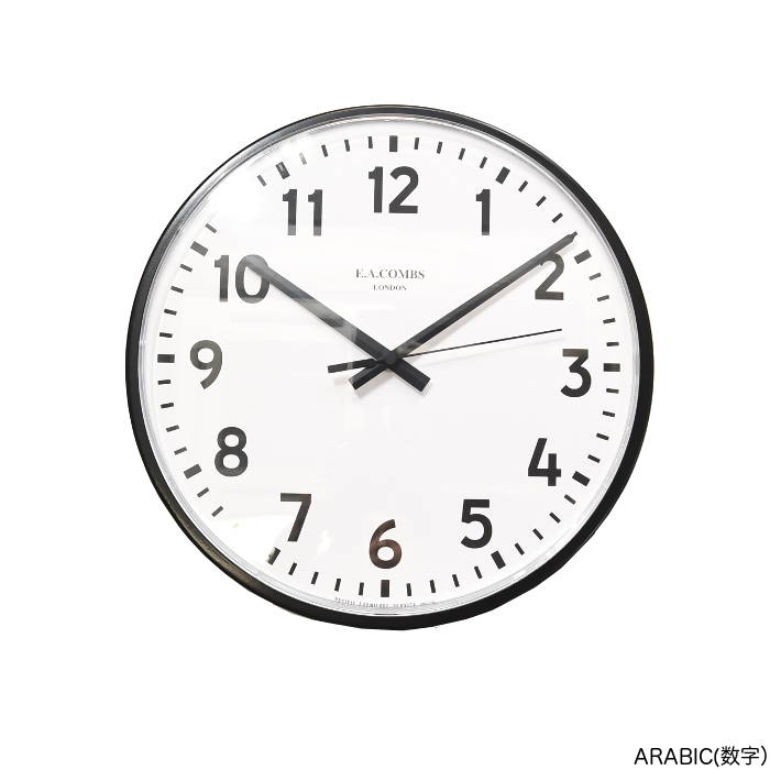 PACIFIC FURNITURE SERVICE (パシフィックファニチャーサービス)E.A. COMBS WALL CLOCK