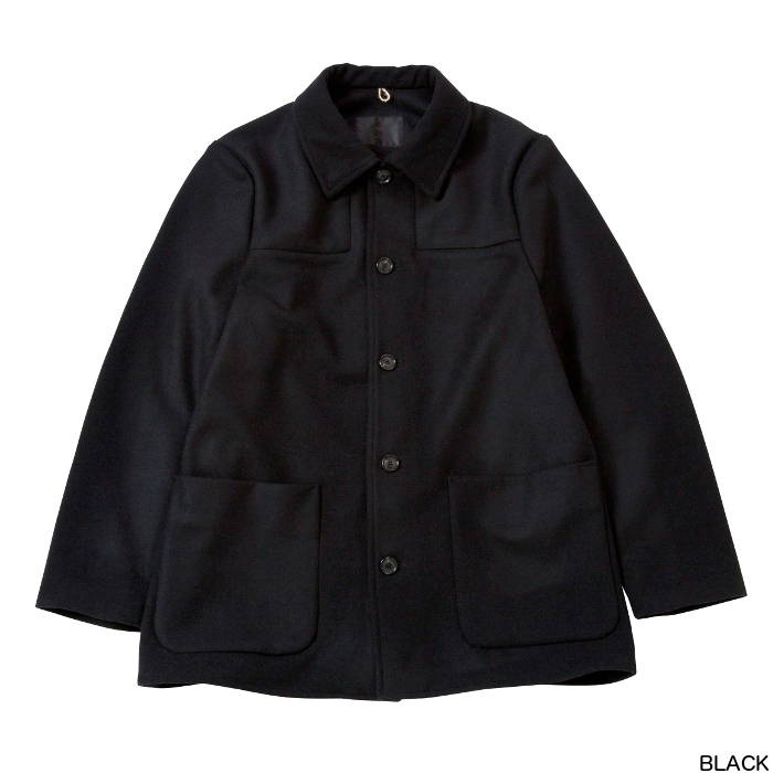 SALE bukht ブフト LIGHT MELTON WORK JACKET -SUPER 100s FINE WOOL- ワークジャケット BW-96417