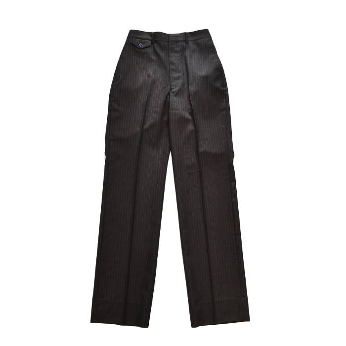 SALE JOHN LAWRENCE SULLIVAN ジョンローレンスサリバン レディース STRIPE STRAIGHT TROUSERS 2C011-0119-07