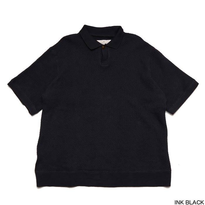 GOWN & FOUNDATION ガウン&ファンデーション オーガニック綿 鬼カノコ半袖ポロシャツ G&FT012