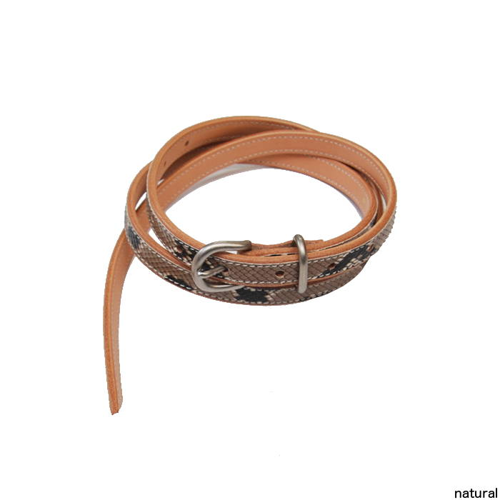 Hender Scheme エンダースキーマ python tail belt パイソンベルト fl-rc-tlb