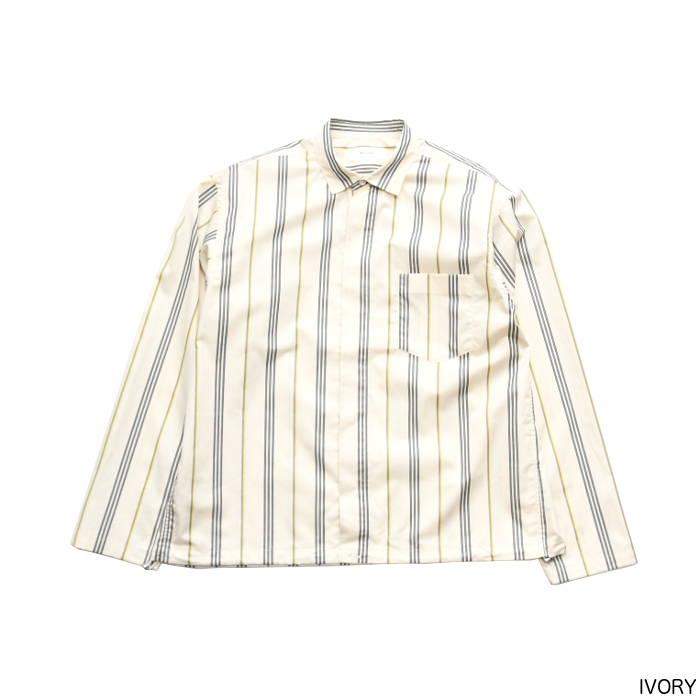 SALE WELLDER(ウェルダー) Drawstring Shirt ドローコードシャツ WM19SSH03