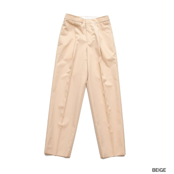 SALE CINOH チノ COTTON TUCKED PANTS コットンタックパンツ 19SPT065