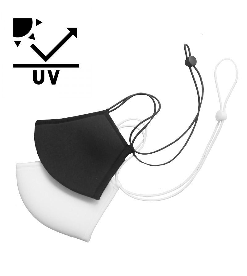 立体マスク 激安価格と即納で通信販売 洗える マスク ネックストラップ ネックストラップ付マスク RIKIオリジナル AG20-1000 お買い得
