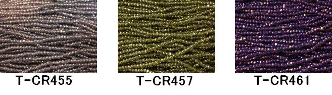 [AA999]【大口割引・卸価格販売】【20~40%OFF】TOHO糸通しスリーカットビーズ《サニー》T-CR455/457/461 60M分(約40,800粒)[RPT]