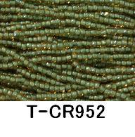 [AA999]【大口割引・卸価格販売】【20~40%OFF】TOHO糸通しスリーカットビーズ《着色オーロラ》スリーカットT-CR952 60M分(約40,800粒)[RPT]