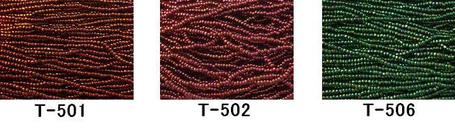 [AA999]【大口割引・卸価格販売】【40%OFF】TOHO糸通し特小ビーズ《玉虫》T-501,502,506 100M分(約96,000粒)[RPT]