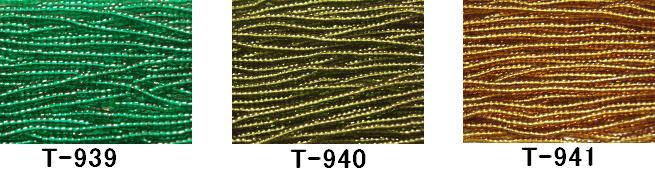 100M分(約96,000粒)[RPT] [AA999]【大口割引・卸価格販売】【40%OFF】TOHO糸通し特小ビーズ《スキ》T-939/940/941