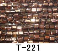 [AA999]【大口割引・卸価格販売】【40%OFF】TOHO糸通し六角大ビーズ《コゲ金》T-221 30M分(約12,000粒)[RPT]